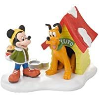 Department 56 Disney Village a Special Snack for Pluto Village Accessory, 3-Inch by Department 56