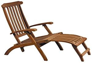 Floréal - Chaise de croisière en Teck