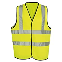 Kids High Visibility Vest (10/12 Years) Yellow