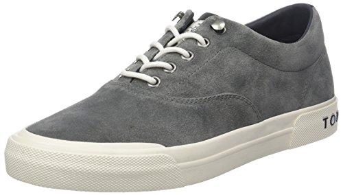 Tommy Hilfiger Herren Heritage Suede Sneaker, Grau (Charcoal 007), 42 EU