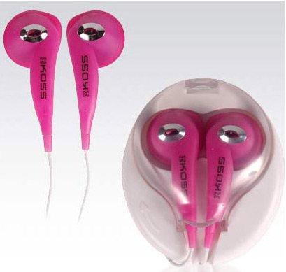 Koss Stereo Headset Jack 3,5mm Pink Koss Stereo-headset