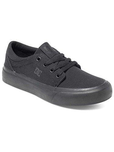 DC Shoes Trase Tx, Baskets mode garçon Noir - Black/Black/Black