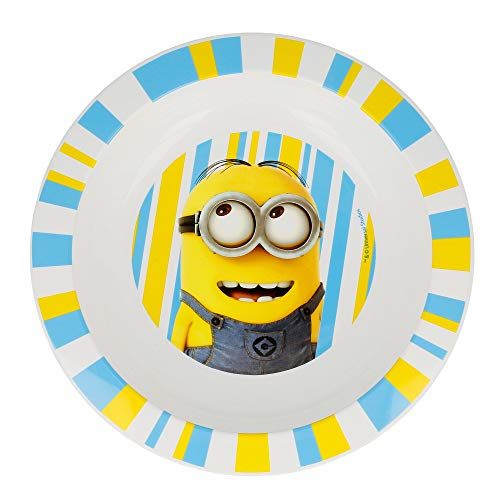 Assiette creuse Micro Kids Minions Rules