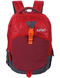 Safari 42 Ltrs Red Casual Backpack (YAXIS18CBRED)