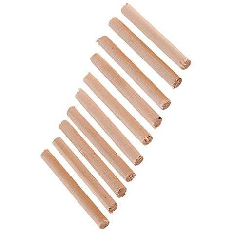 MagiDeal 10er Säulen Sound Post Set aus Fichte Holz für 4/4 3/4 Akustik Violine Zubehör
