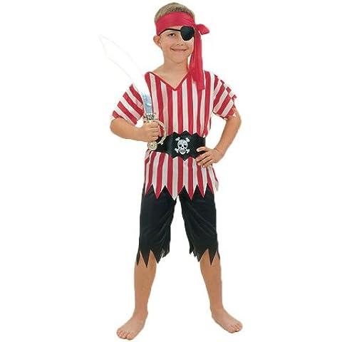 Disfraz de niño de Pirata. 6 - 9 años