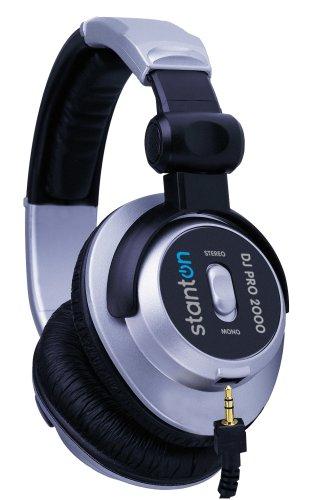 Stanton DJ Pro 2000 Headphone: Silver