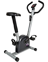 TecTake VELO D APPARTEMENT ELLIPTIQUE ERGOMETRE FITNESS CARDIO GYM AVEC ORDINATEUR LCD
