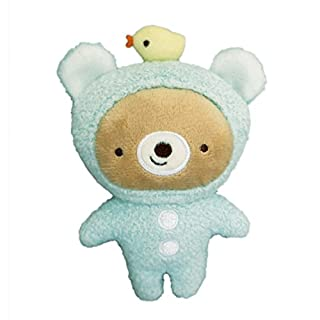 Baby Bear Ananö Cafe Rattle Plush Toy Blue
