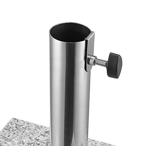 Portaombrellone 38cm 25kg granito supporto for Amazon portaombrelli