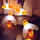 Itmumbai Honeybee Fairy String Lights, Plug in String Lights 16LED Warm White Lights for Party/Birthday/Wedding…