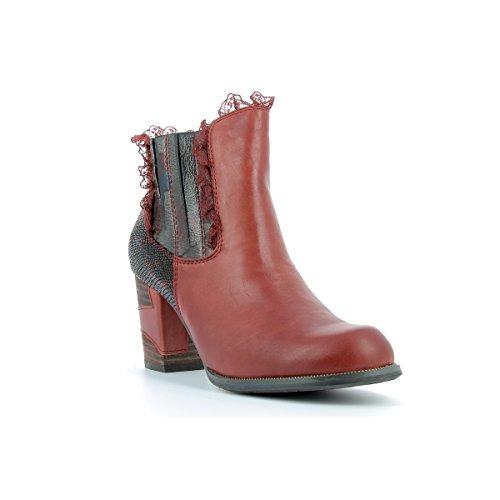 Laura Vita Damen Anna 01 Stiefel Rot
