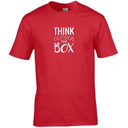 S Tees Herren T-Shirt Rot