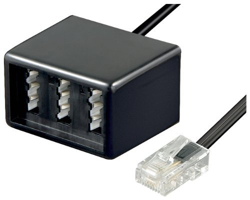 ISDN-Adapter RJ45 auf TAE-NFN-Kupplung [Elektronik]
