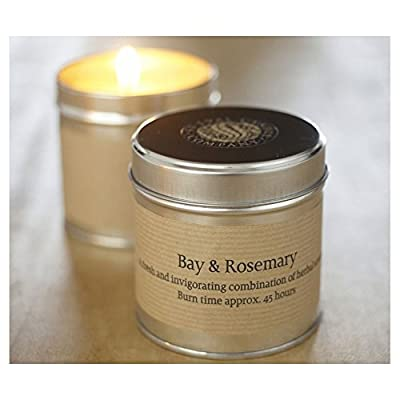 Tin Candle - Bay and Rosemary by St Eval from St Eval Candle Co Ltd