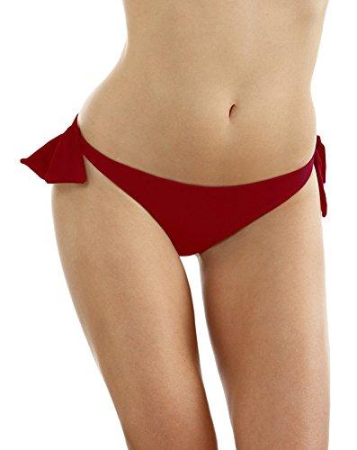 Bora Bora Damen Bikinihose Brisa-17 Rot (Rojo)