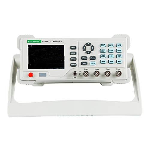 Digital multimeter Benchtop Digitales LCR-Messgerät ET4401Desktop LCR-Brücke mit USB und RS-232, einstellbare Messfrequenz 100 Hz ~ 10 kHz Widerstandsmessgerät Kapazitätsmessgeräte Benchtop Digitale Multimeter