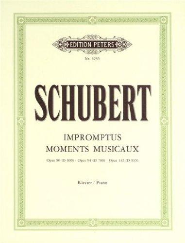 Impromptus et Moments Musicaux (Niemann) - Piano par Schubert Franz