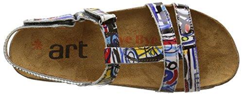 Art Arti Breathe Fantasy - Sandali Donna Multicolore (Box)