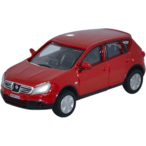 Nissan Qashqai, rot, 0, Modellauto, Fertigmodell, Oxford 1:76