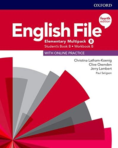 English File 4th Edition Elementary. Multipack b English