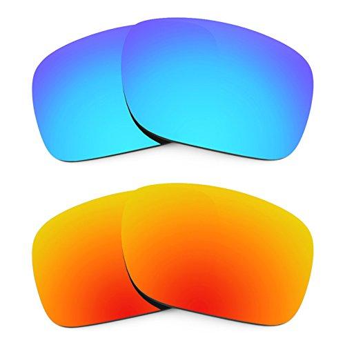 Revant Ersatzlinsen für Oakley Holbrook Polarisiert 2 Paar Kombipack K002 (Holbrook Oakley Ersatz)