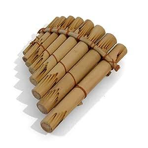 Incurvée en bambou pour tuyau de poêle de 8 tubes de Percussion-Instrument de Musique-Grand cadeau! *affranchissement du commerce équitable