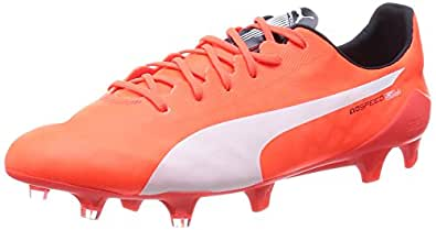 Puma evoSPEED SL FG, Chaussures de football hommes - Orange - Orange (lava blast-white-total eclipse 01), 39 EU