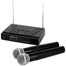 KAM KWM11 Dual VHF Wireless Microphone System
