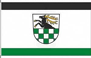 Königsbanner Hochformatflagge Hirschfeld - 150 x 500cm - Flagge und Fahne