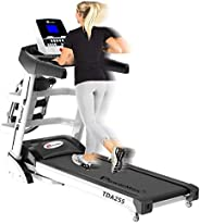 PowerMax Fitness TDA-255 2HP (4HP Peak) Motorized Treadmill with Free Installation Assistance, Home Use &