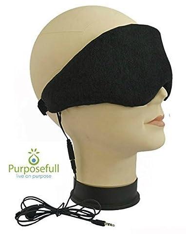 purposefull veille–Casque et masque–Sommeil et ronflement Réducteur de bruit