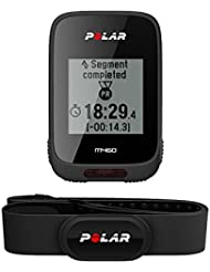Polar Unisex Adults' M460 Integrated GPS Altitude Tracker, Black, One Size