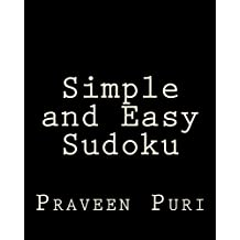 Simple and Easy Sudoku: Easy and Fun Large Grid Sudoku Puzzles