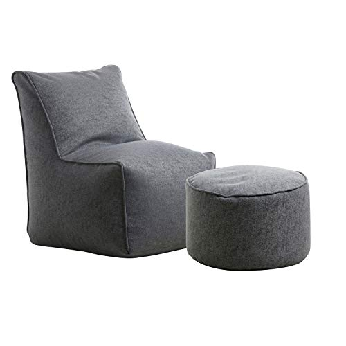 mokebo 'Der Ruhepol' Hochwertiger Sitzsack Indoor, Gaming & Lounge Sessel, Sitzkissen, TV...