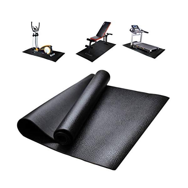 Fitness Attrezzatura ed Esercizio Tappetino Antiscivolo Antiurto Protezione del Pavimento Tappetino per Tapis roulant… 1 spesavip