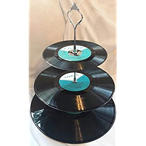 Schallplattenetagere Vinyl Upcycling - Gerade