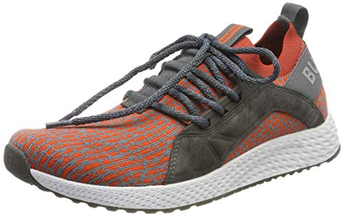 bugatti Herren 342623636900 Slip On Sneaker, Grau, 42 EU