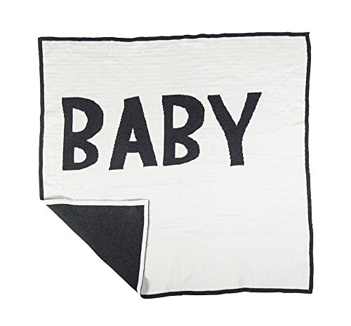 Sebra Babydecke 80 X 80 cm., Kinder, One Size, Weiß mit schwarz