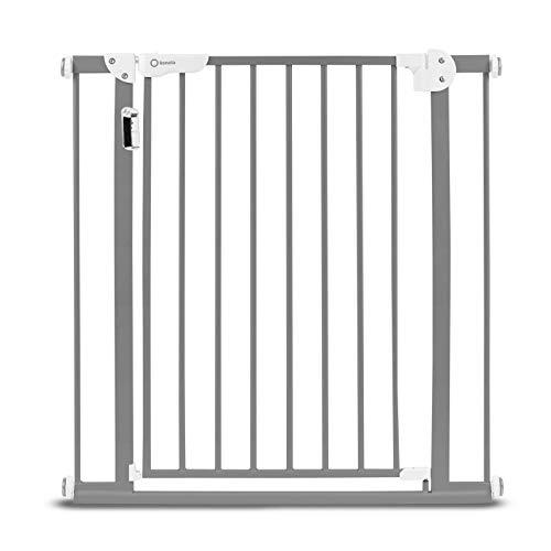 75-105 cm Lionelo Truus Slim White Cancelletto di Sicurezza per Porta e Scale