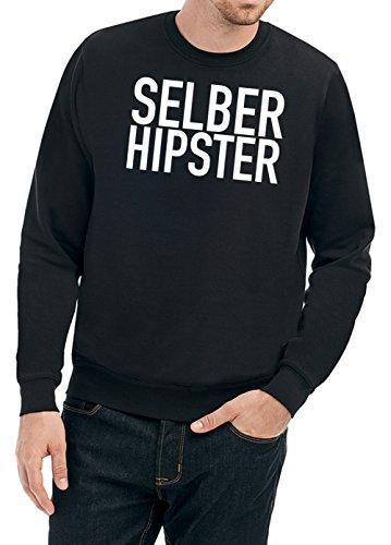 Selber Hipster Sweater Black Certified Freak-XXL