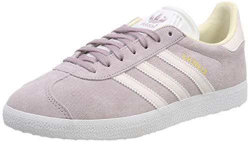adidas Damen Gazelle W Gymnastikschuhe, Rosa (Soft Vision/Orchid S18/Ecru Tint S18), 38 EU (5 UK)