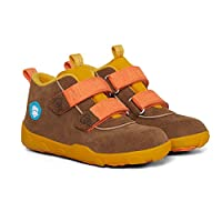 Affenzahn Autumn Shoes Low Boot Waterproof Kids Shoes for Girls and Boys Size 9 to 6 Yellow Size: 8 UK Child