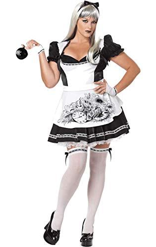 Generique - Halloween-Kostüm Alice böse ()