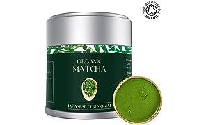 Tè verde Matcha Polvere 30g | Grado cerimoniale più fine | Biologico JAS EU | Giapponese Kyoto Uji | Organic Batch M13