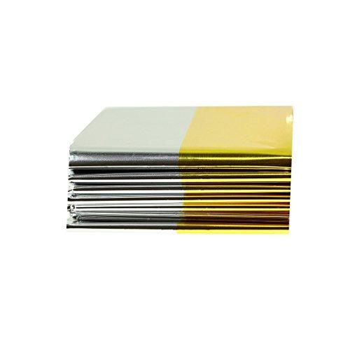 Rettungsdecke Gold-Silber-Folie 160 x 210cm (5)