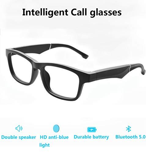 NAMENLOS Bluetooth 5.0 Smart Eyeglasses Open Audio Stereolautsprecher Mikrofon Anti-Blaulicht Wechselobjektiv Sonnenbrille SmartTouch Funkkopfhörer