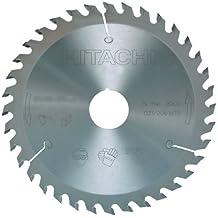 Hitachi - 752401 - Disco para sierra circular e ingletadora 150x2,6x1,6 mm eje 20/16 mm 12 dientes para madera