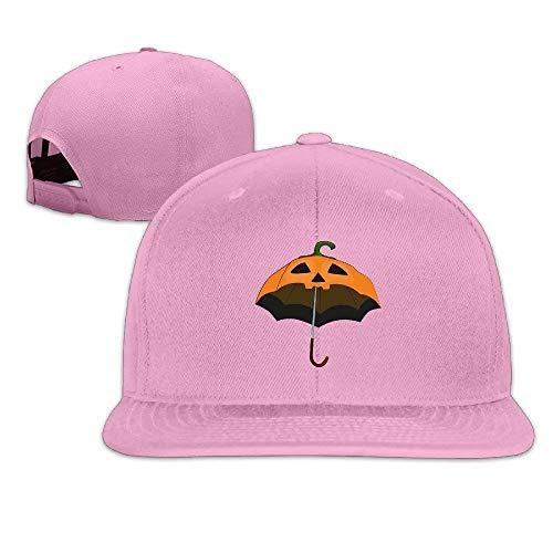 Fashion Baseball Caps Hats Halloween Pumpkin Umbrella Fashion Flat Baseball Caps Snapback Hat Unisex