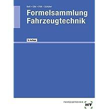 Formelsammlung Fahrzeugtechnik